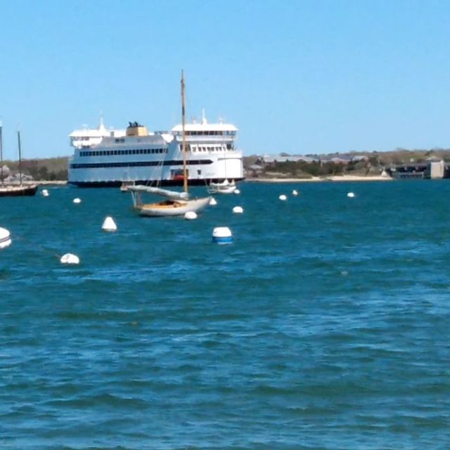 Ferry arriving Vineyard Haven on Martha's Vineyard. #marthasvineyard #ferry #vineyardhaven #travel #travelblogger